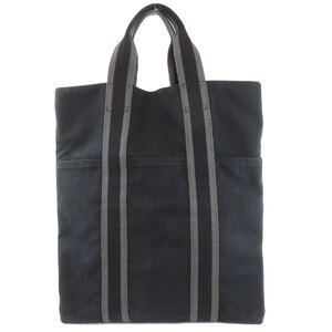 Hermes Fool Tokabas Tote Bag Canvas Ladies