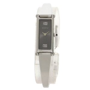 Gucci 1500L Square Face Bangle Watch Stainless Steel Ladies