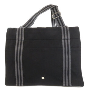 Hermes Fool Tubasas Tote Bag Canvas Ladies