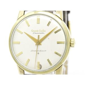 Vintage GRAND SEIKO First Chronometer 14K Gold Plated Mens Watch J14070