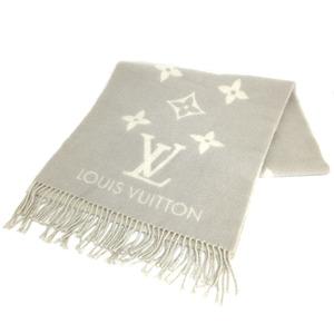 Louis Vuitton Muffler Escharp Reykjavik M71126 Cashmere Gray Lady