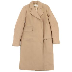Chloé Chloe Arm Quilted Chester Coat Ladies Beige 36 Wool