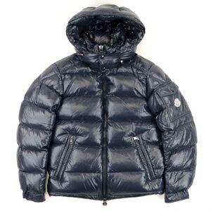 Moncler Maya Down Jacket Mens Navy 0 Logo Patch MAYA