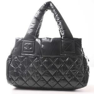 Chanel CHANEL Nylon Coco Cocoon Handbag Black
