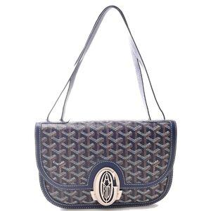 Goyard GOYARD Sack 233 Blue Marine Shoulder Bag Navy PVC