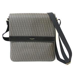 SAINT LAURENT shoulder bag brown ladies leather