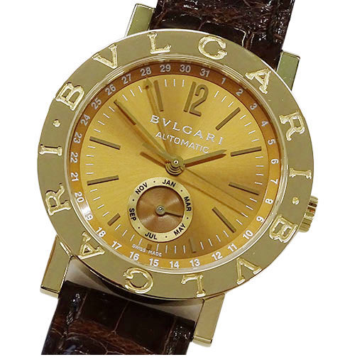 ◆ BVLGARI Watch BB38GLAC Bvlgari Annual Calendar World Limited 99 18K 750YG Automatic AT Men's Polished