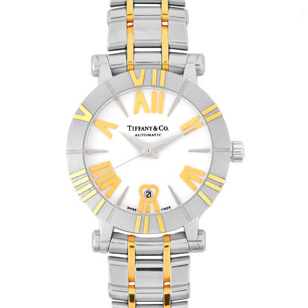 Tiffany TIFFANY & Co. Atlas SS × YG Combination Ladies Watch Automatic White Dial Z1300.68.16A20A00A