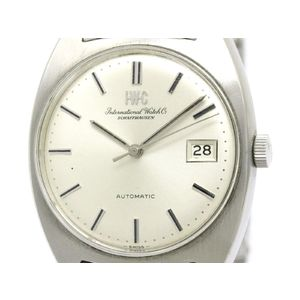 Vintage IWC Schaffhausen Cal 8541B Steel Automatic Mens Watch 1828