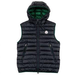 Moncler MORELLET Nylon Down Vest Men's Black Green 1 Domestic Regular