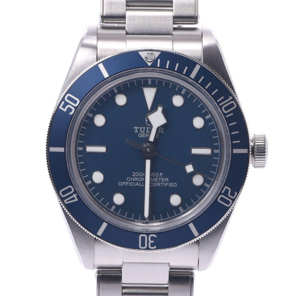 TUDOR Tudor Heritage Black Bay Fifty Eight 79030B Men's Stainless Steel Watch Automatic Blue Dial
