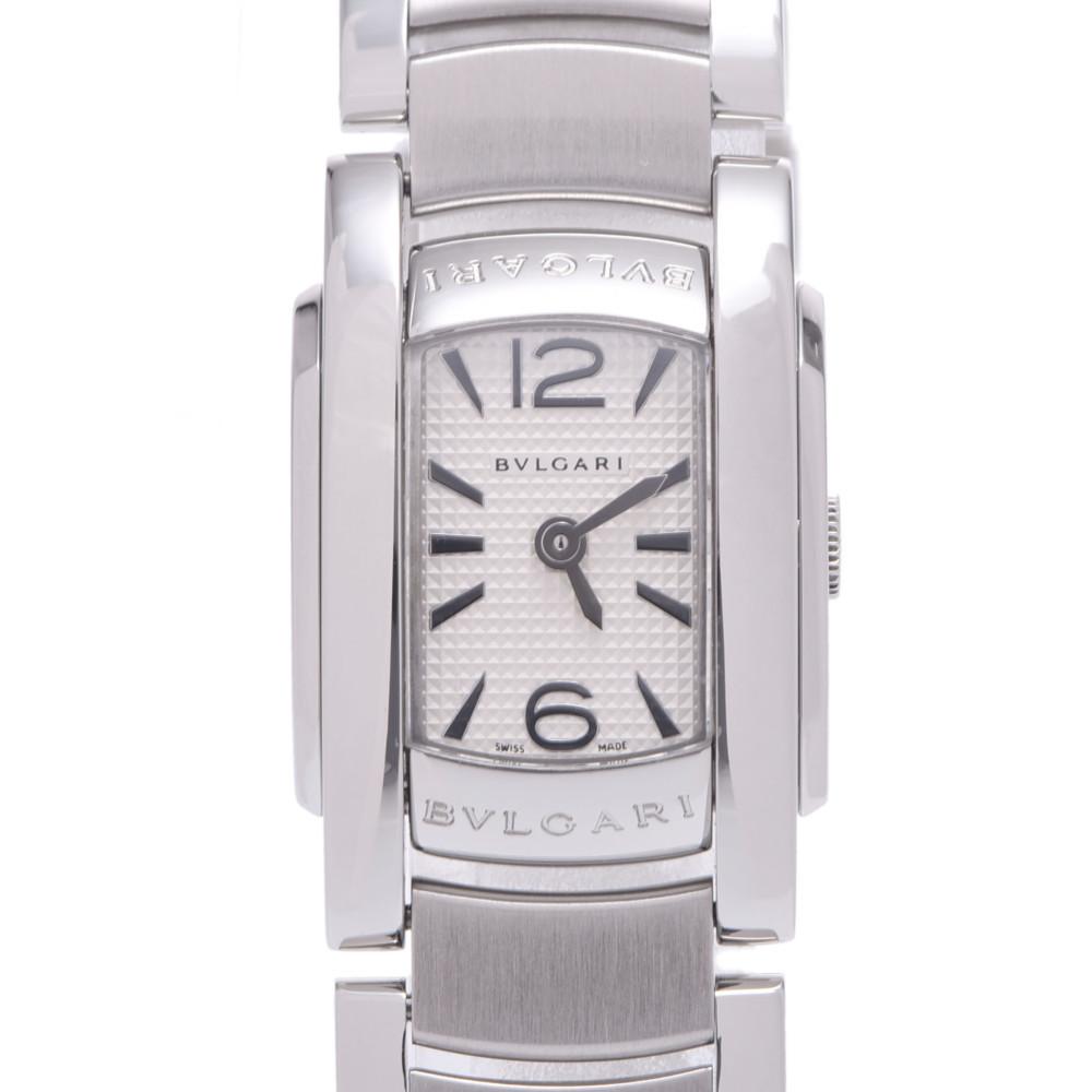 BVLGARI Bvlgari Ashoma AA26C6SS Ladies Stainless Steel Watch Quartz White Dial