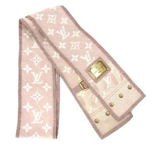 Louis Vuitton Scarf Twilly Ribbon Monogram Untagged Silk Pink Ladies LOUIS VUITTON K10414367