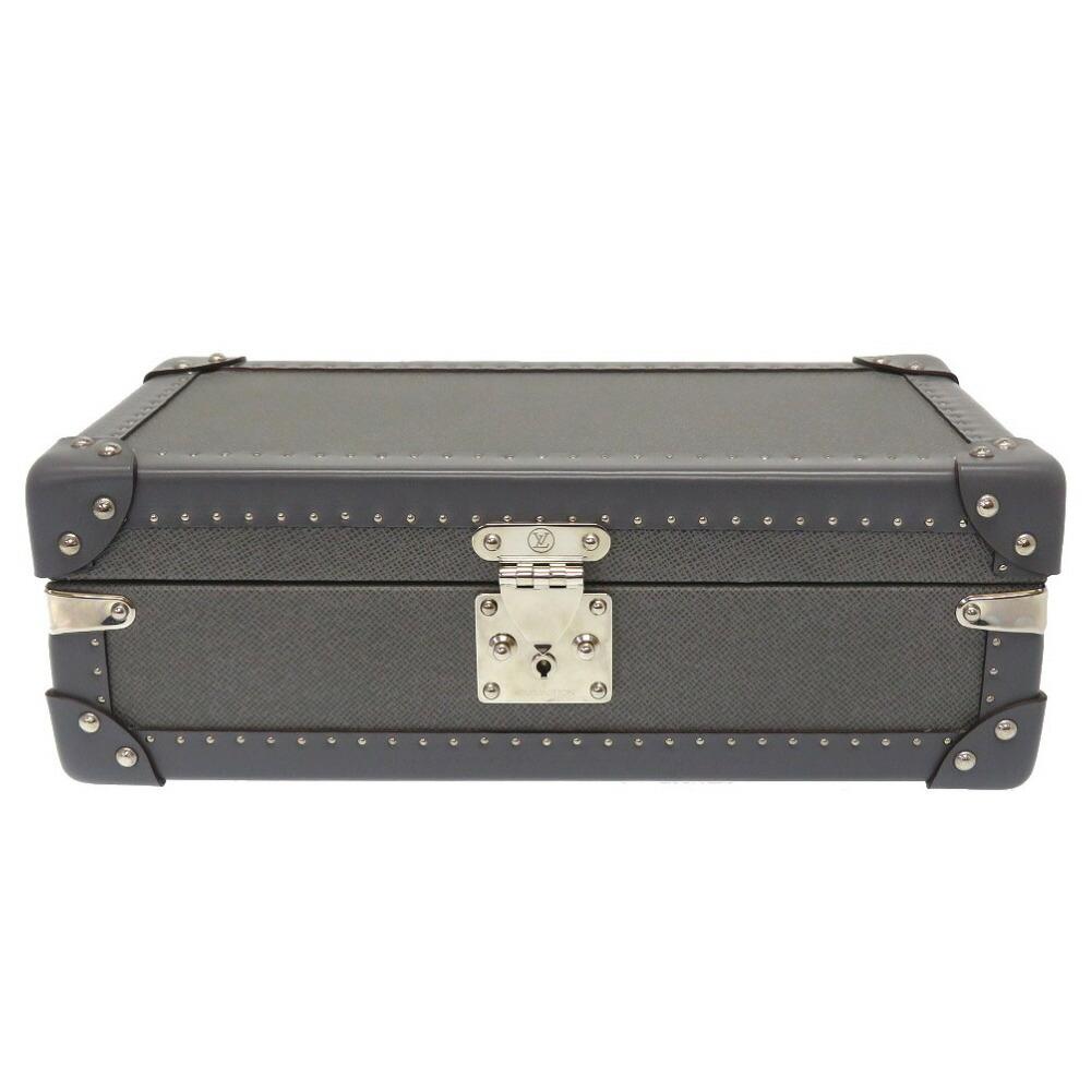 Louis Vuitton Taiga Glacier Coffret 8 Montor Watch Case Box LV 0007 LOUIS VUITTON