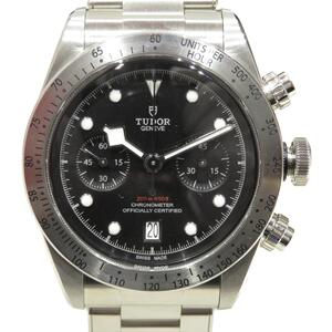TUDOR Heritage Black Bay Chrono Watch Men's Automatic Stainless Steel (SS) (79350)