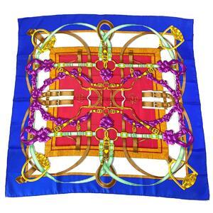 HERMES 90 Carre Scarf Women's Silk