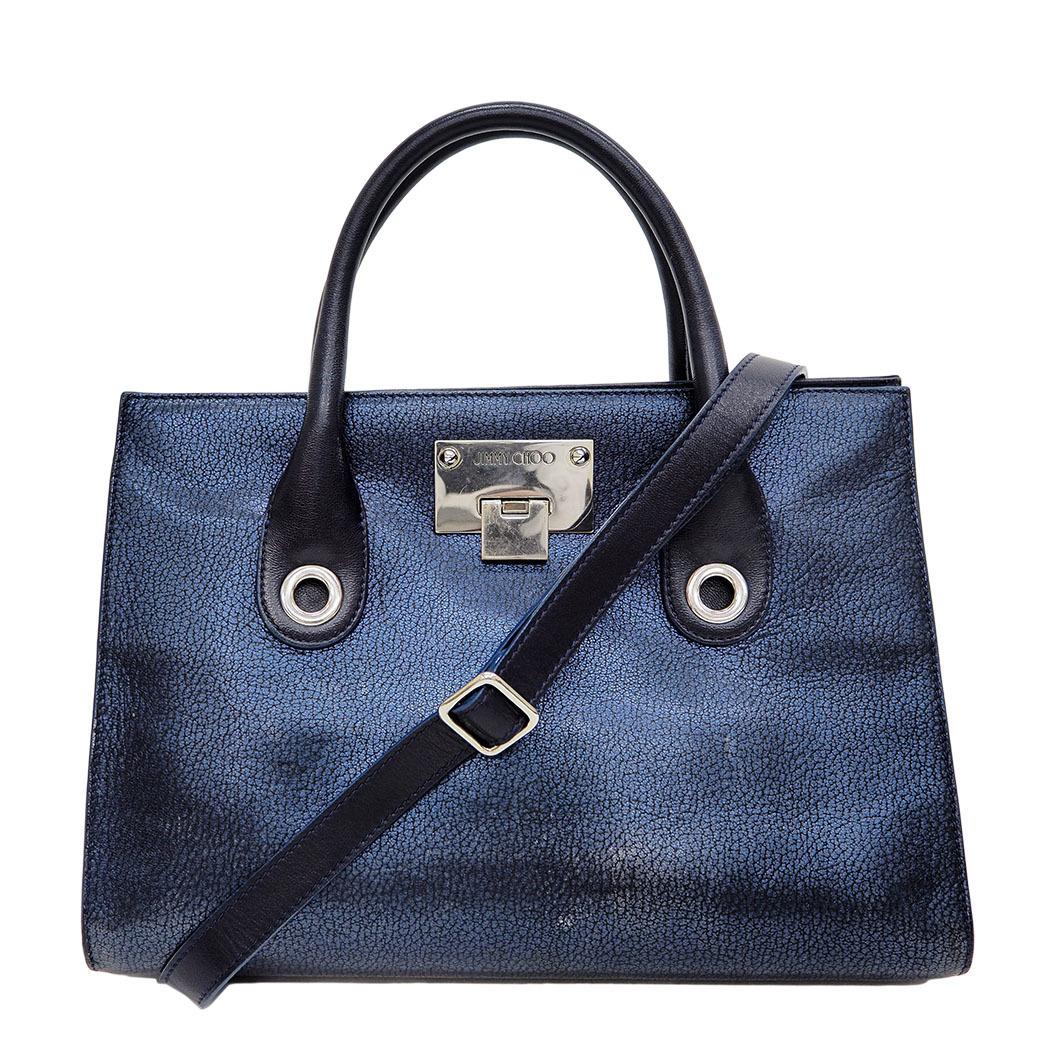 Jimmy Choo JIMMY CHOO Riley Handbag Navy