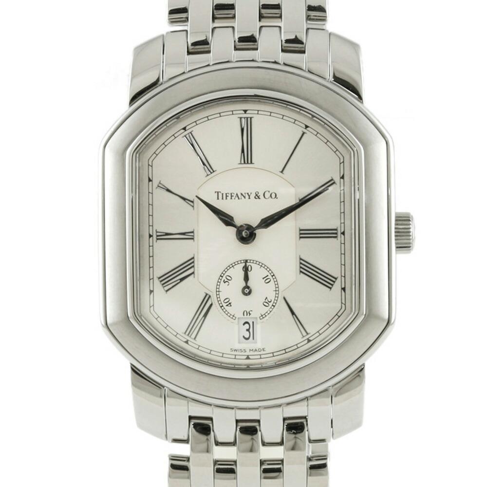 TIFFANY & Co. Tiffany SS Watch Mark Coupe Silver Men