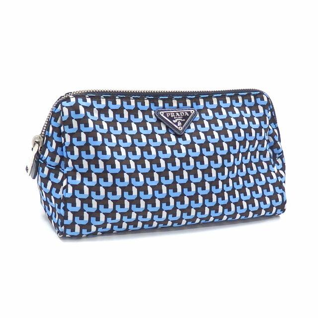 Prada Pouch Ladies Multicolor Nylon 1N0693 Cosmetic accessory case Total pattern