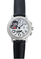 ZENITH Zenith Chronomaster Open Heart Automatic 03.1230.4021 White Dial Stainless Steel Wrist Watch