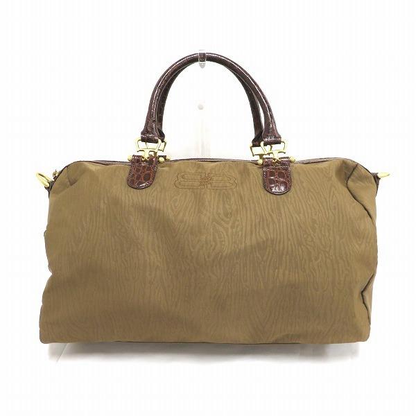 Balenciaga brown bag Boston unisex