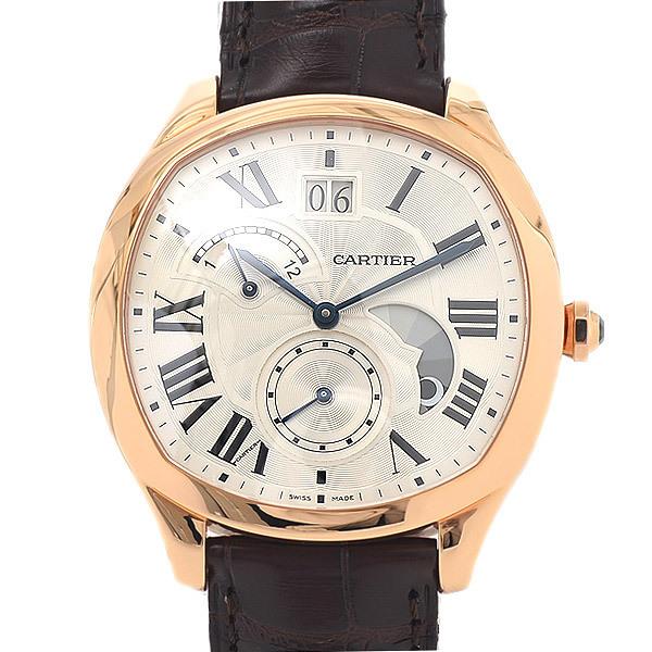 Cartier Drive de Retrograde Silver Dial Automatic WGNM0005 Men's Watch