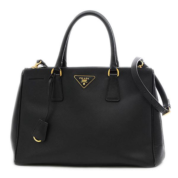 Prada Galleria 2Way Bag Saffiano Leather Black BN2274