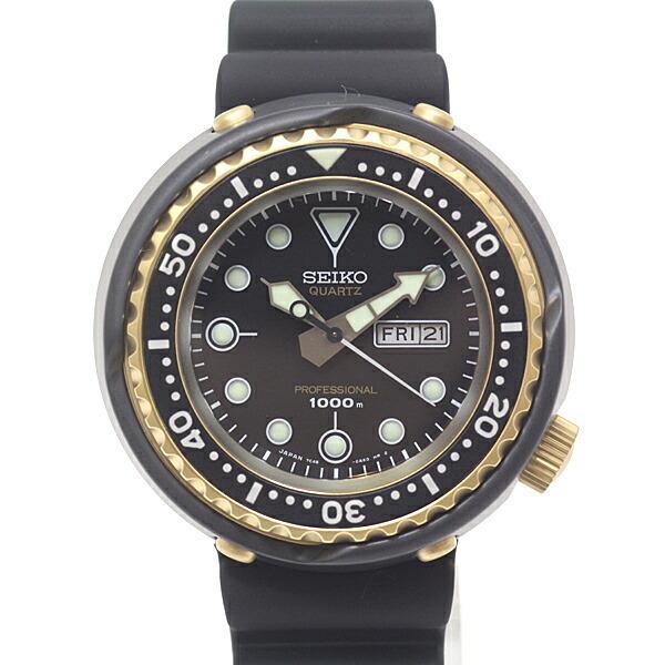 SEIKO Seiko Men's Watch Prospex Marine Master SBBN040 Reprint Design 1978 Limited Edition Black (Black) Dial Quartz Product
