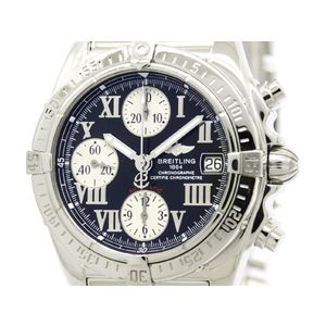 BREITLING Chrono Cockpit Steel Automatic Mens Watch A13358