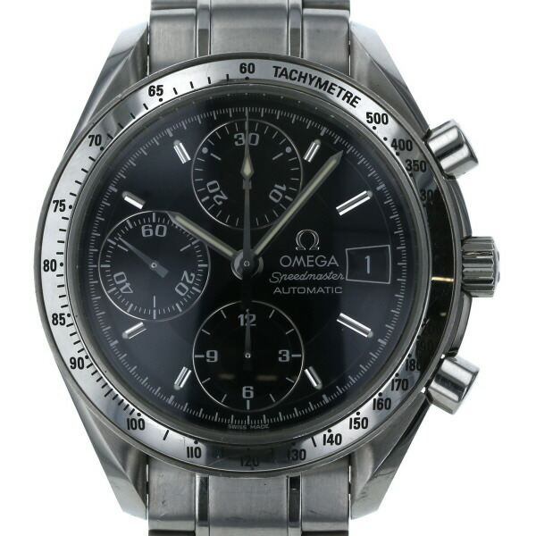 Omega OMEGA Speedmaster Automatic Date 3513.50 Self-winding Black Dial Men's Watch