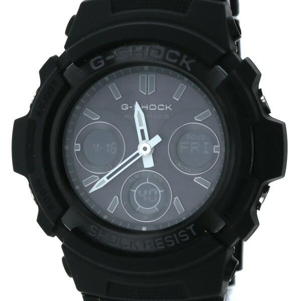 Casio CASIO G-SHOCK Anadigi AWG-M100BC Solar Black Dial Watch