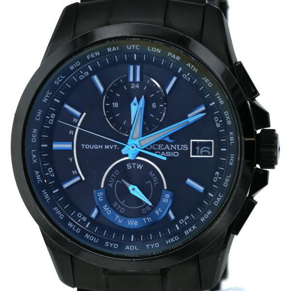 Casio CASIO OCEANUS Oceanus ocw-T2500 Solar Black Dial Men's Watch
