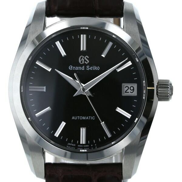 Seiko SEIKO Grand Date 9S65-00B0 Automatic Black Dial Men's Watch