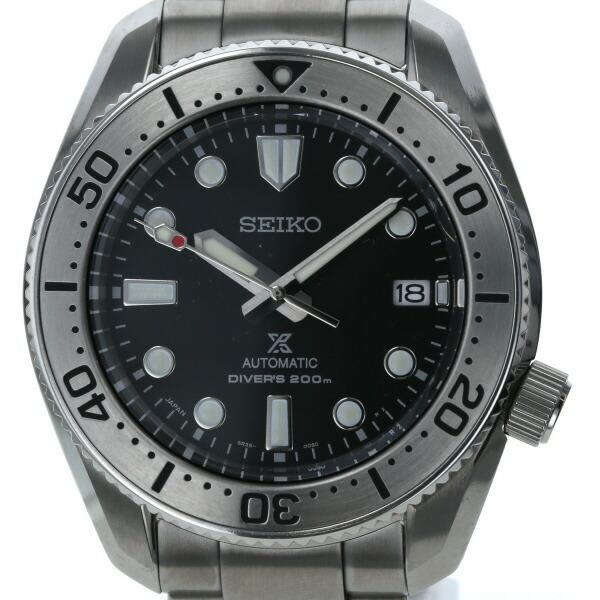 Seiko SEIKO Prospex Diver Scuba Mechanical Date SBDC125 Self-winding Black Men's Watch