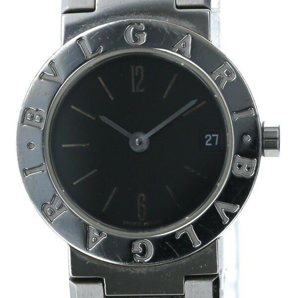 Bvlgari BVLGARI BB23SS Quartz Black Dial Ladies Watch