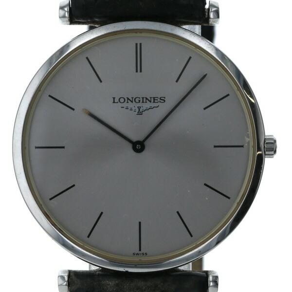 Longines LONGINES Grand Classic L4.709.4 Quartz Silver Dial Men's Watch