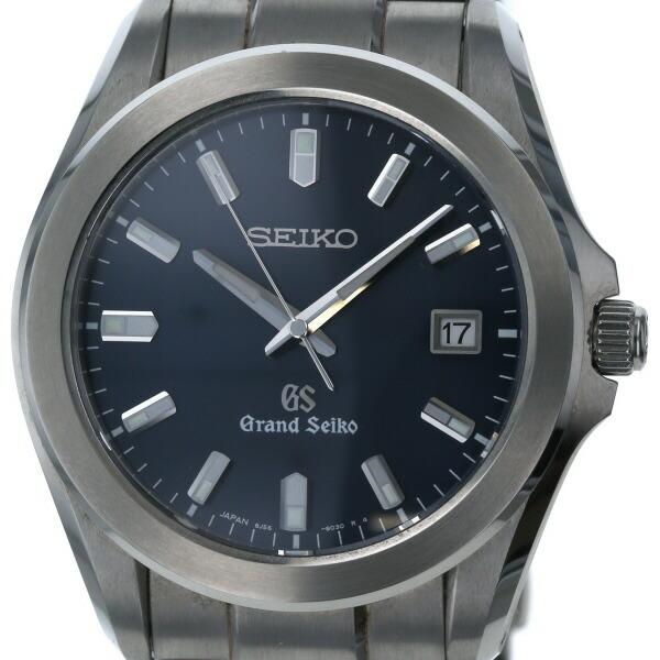 Seiko SEIKO Grand Date 8J56-8020 Quartz Blue Dial Men's Watch