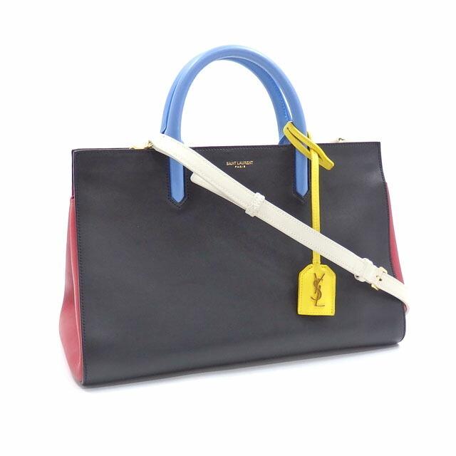 Saint Laurent Handbag Coverive Gauche Ladies Multicolor Leather 400413 BJ56J