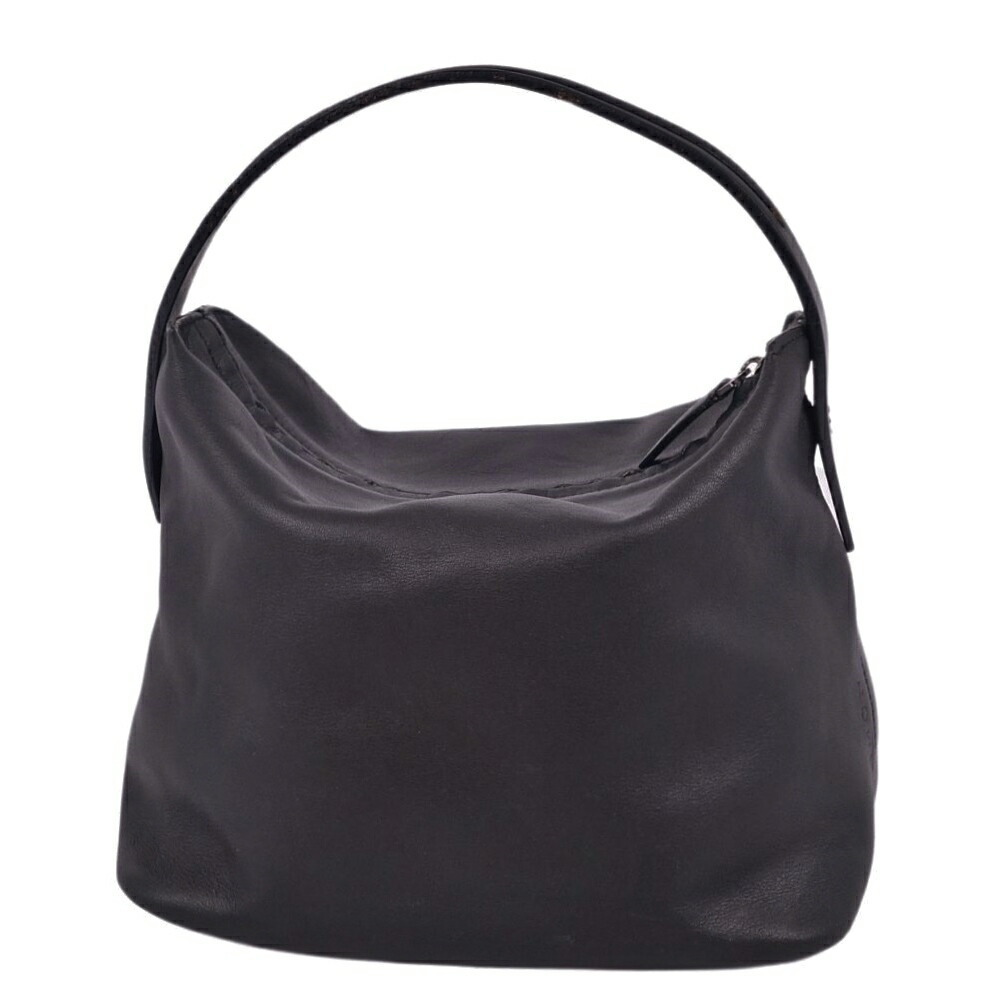 Loewe LOEWE Mini Calf Leather Black Ladies