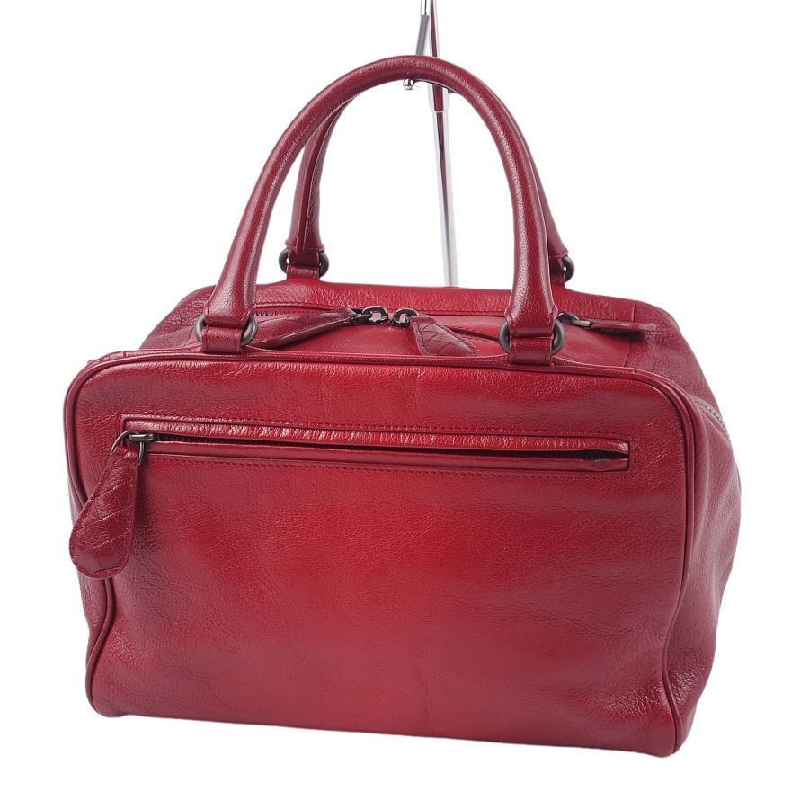 BOTTEGA VENETA Intrecciato Mini Calf Leather Genuine Ladies Red