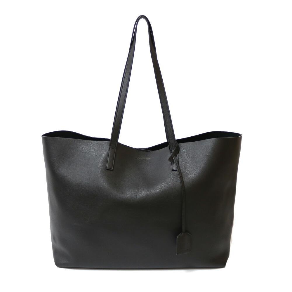 SAINT LAURENT shoulder bag black ladies leather