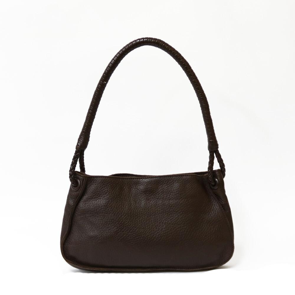 BOTTEGA VENETA Shoulder Bag Brown Women's Leather