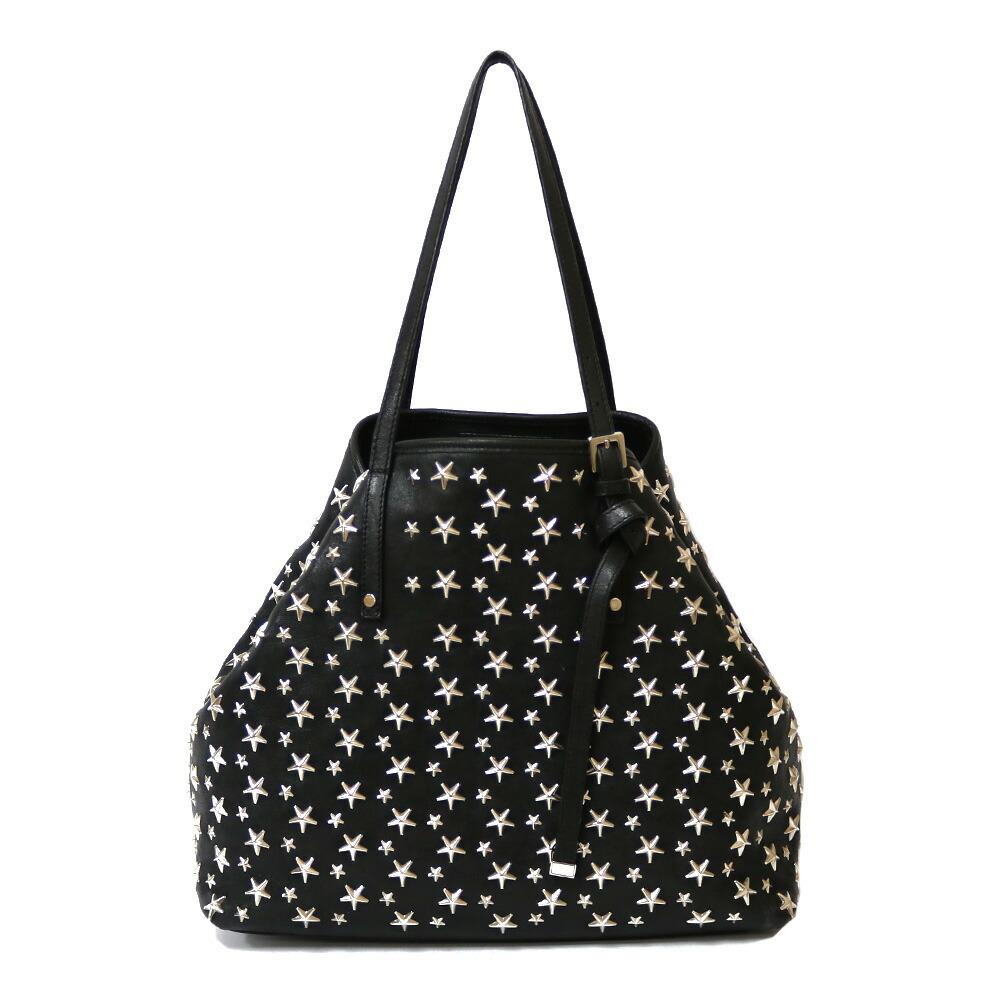 JIMMY CHOO Shoulder Bag Black Women's Leather