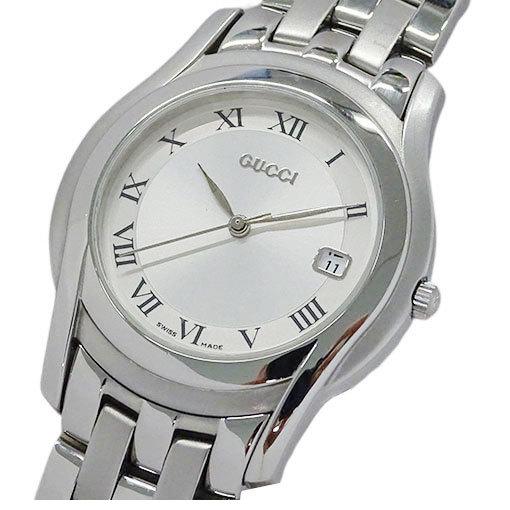 Gucci GUCCI Watch 5500M Quartz Date Men