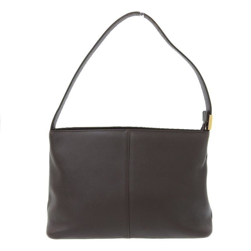 Burberry London BURBERRY Shoulder Bag Leather Brown