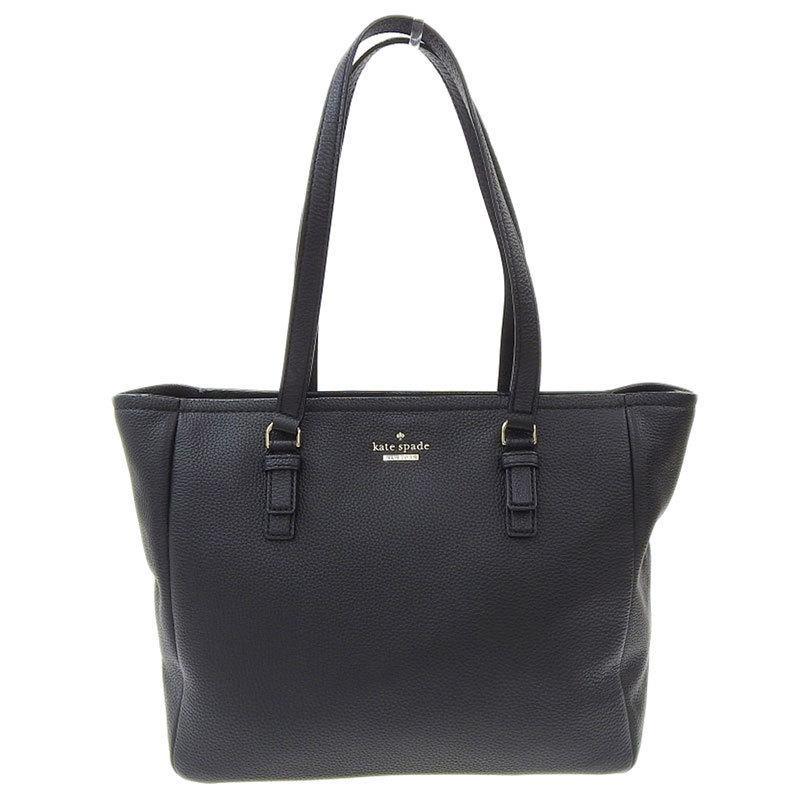 Kate Spade Tote Bag Leather Black