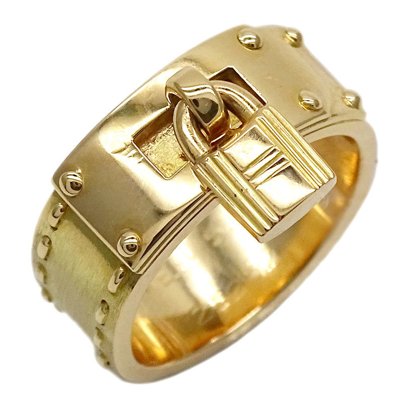 Hermes HERMES Kelly Ring Yellow Gold 750YG