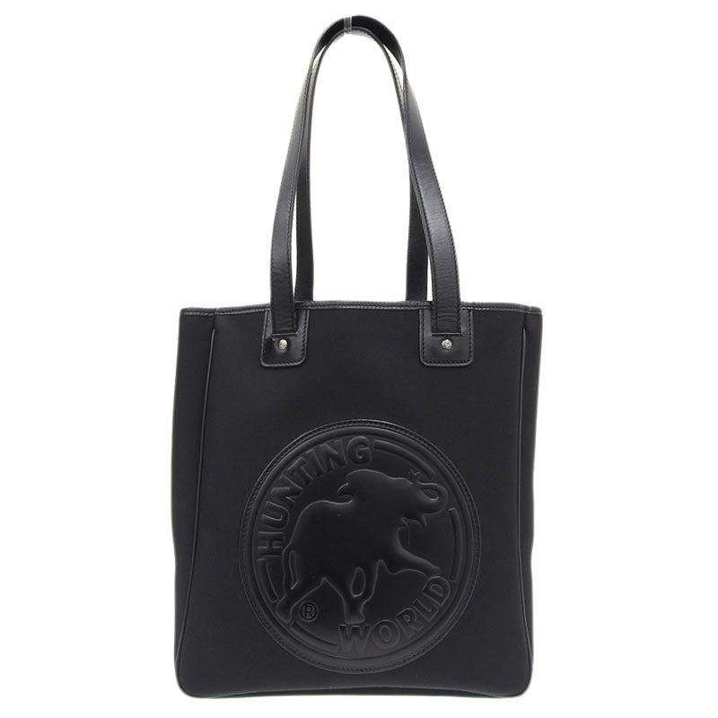 Hunting World HUNTING WORLD Tote Bag Canvas Black