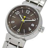 Louis Vuitton LOUIS VUITTON Watch Q1311 Tambour MM Quartz Date Boys Polished
