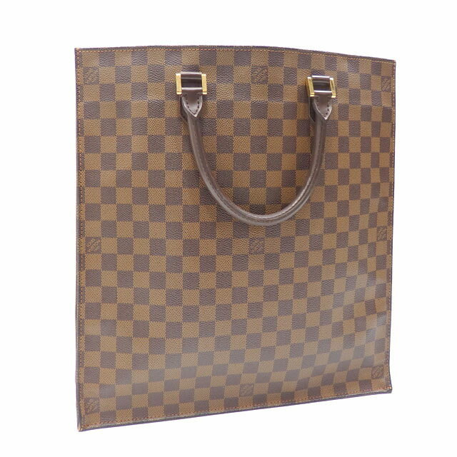 Louis Vuitton Tote Bag Damier Sackpla N51140 Ebene Hand Women's Men's